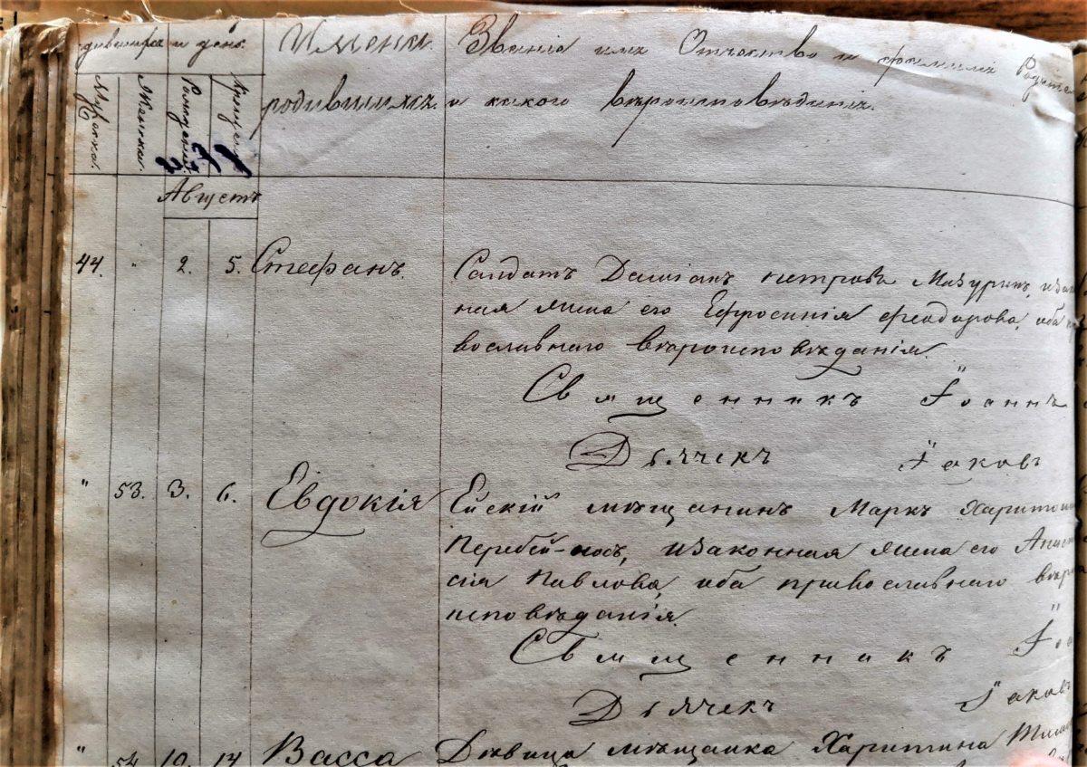 Ейский мещанин Перебейнос, солдат Демьян Петров Мазурин 1868 год. Ейские мещане.