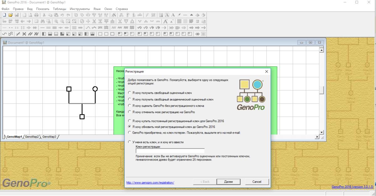 При установке программа предлагает несколько вариантов регистрации, в том числе пробная бесплатная версия