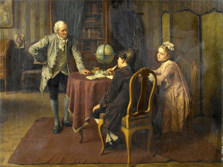 Домашнее образование дворянских детей