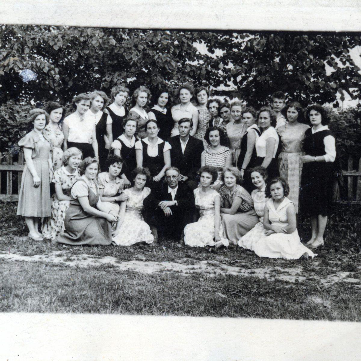 Советское педучилище Кировская область, 1960 год. Моя учительская династия