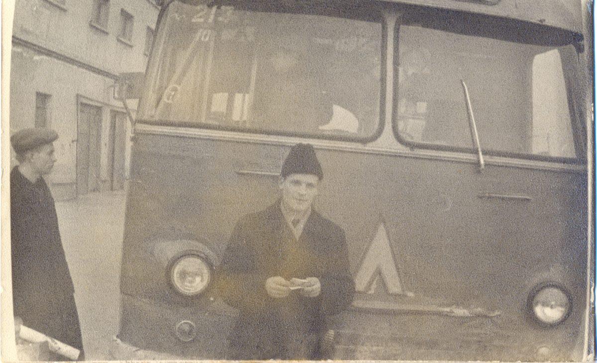 Транспорт в городе Таганроге, Ростовская область 1960-е годы.