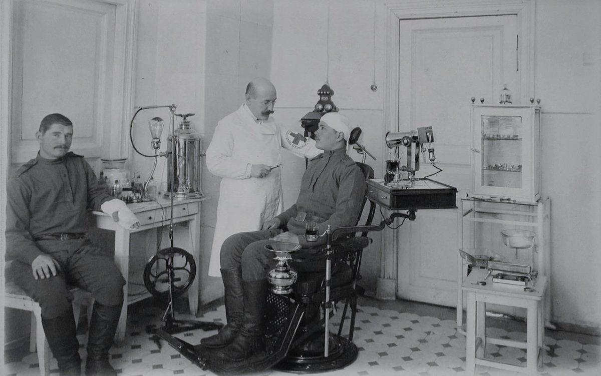 Стоматология времен Первой Мировой войны