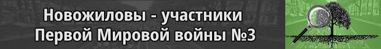 Новожиловы Пермская губерния 1914-1918гг 3