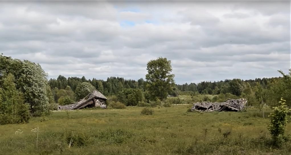 История населенного пункта для родословной книги: фотография заброшенной деревни, где когда-то проживали предки